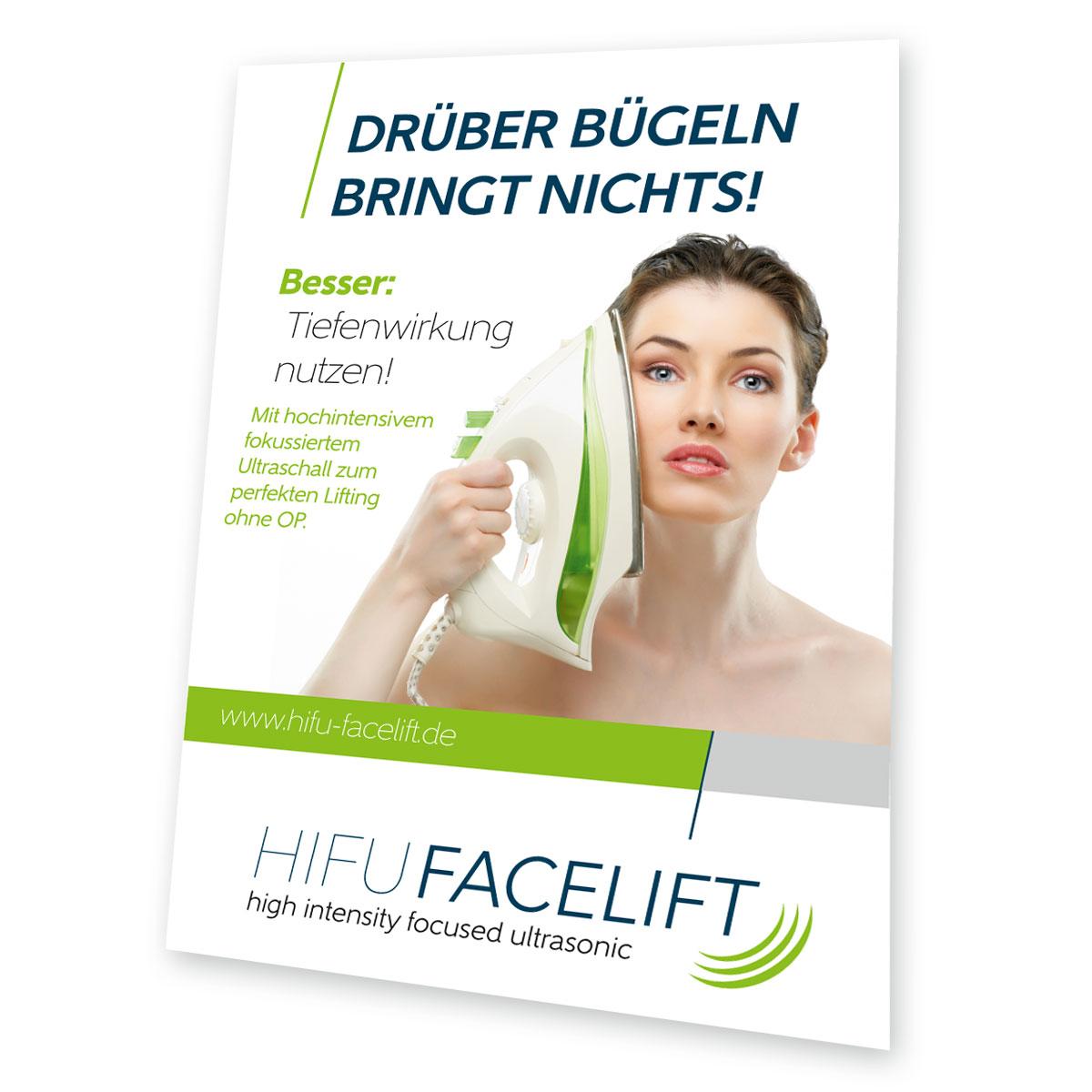 Plakat HIFU Facelift