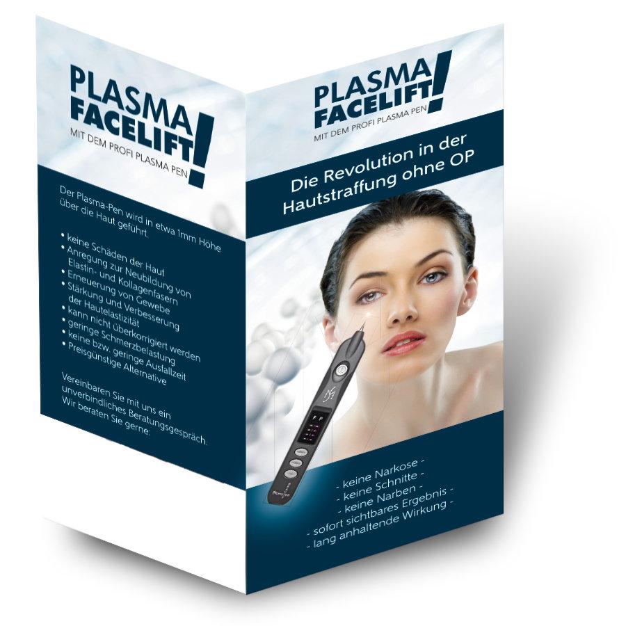 Faltblatt Plasma Facelift