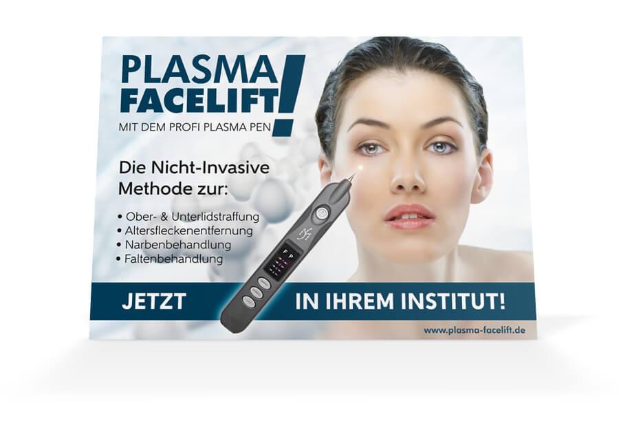 Plakat Plasma Facelift Querformat