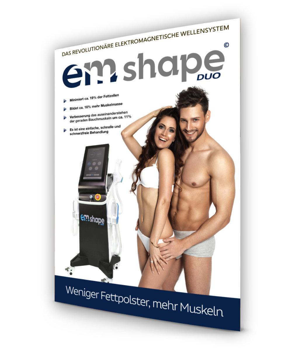 Plakat EM-Shape Duo